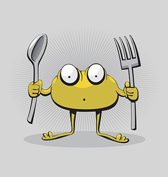 Hungry monster vector