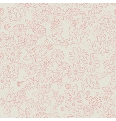 Daisy background pink vector