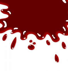 blood background vector image
