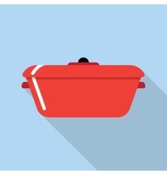 Cooking stewpot vector