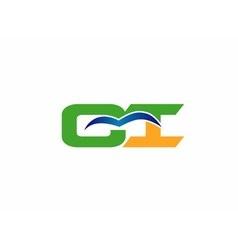 Ci logo vector image