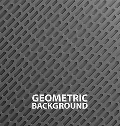3D realistic abstract layers background vector image