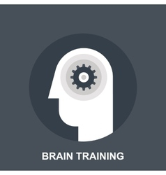 Brain Training vector image vector image