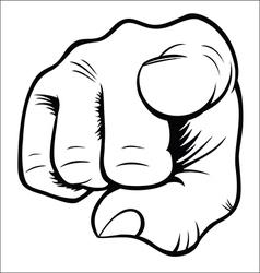 Hand gestures - you vector
