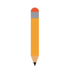 pencil with eraser icon image vector image vector image