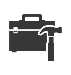 tool kit box repair design vector image