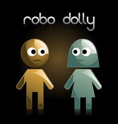 robot dolly vector image