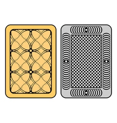 design of cards vector image vector image