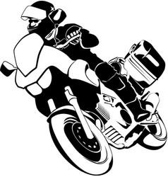 Motorrad motorbike motocycle vector