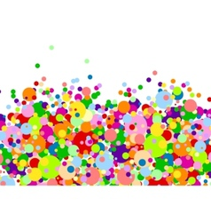 multi-colored balls vector image