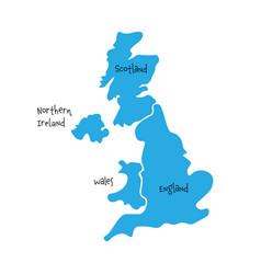 United kingdom aka uk of great britain and vector