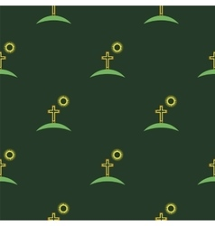 Religion icons seamless pattern vector