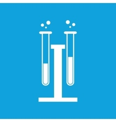 Chemical experiment icon simple vector