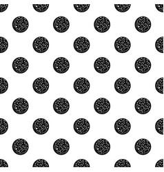 Dead planet pattern vector