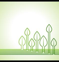 Ecology concept - leaf background vector