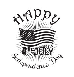 Independence day icon 4th of july fourth of july vector