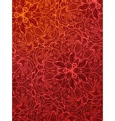 Red vintage background vector image