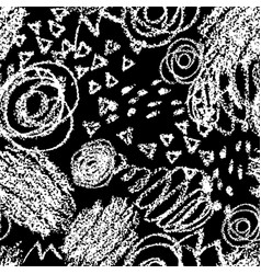 seamless pattern with brush strokes and vector image