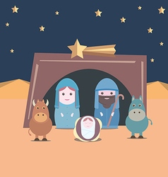 Nativity christian vector