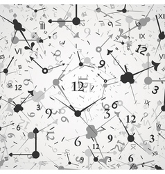 Hour background vector
