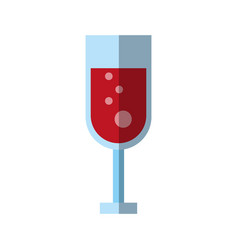 Cocktail in glass icon image vector