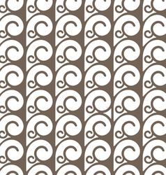 Elegant seamless pattern with swirls vector