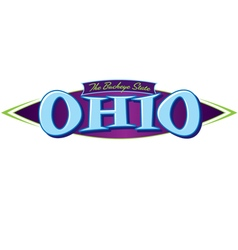 Ohio the buckeye state vector