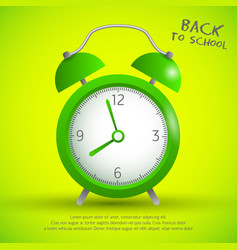 school time template vector image