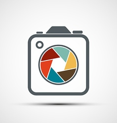 Icon camera stock vector