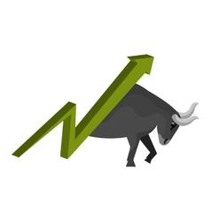 Stock exchange finance vector