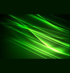 Polar lights concept background vector