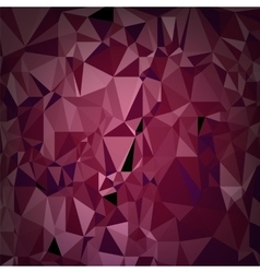 Abstract triangular red pattern vector