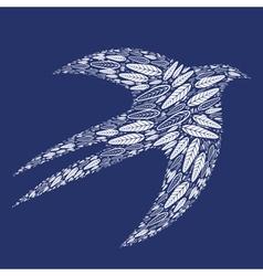 Bird feathers 2 vector