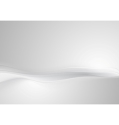 Shiny grey pearl abstract wavy background vector image
