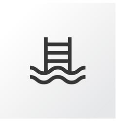 Swimming pool icon symbol premium quality vector