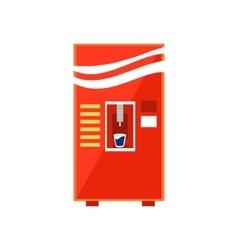Cold Drinks Vending Machine Design vector image