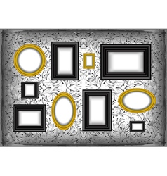 Frame collection vector image
