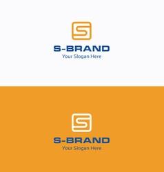 S Brand logo vector image