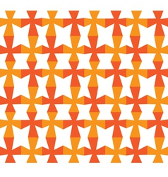 seamless background Red and yellow grid vector image vector image