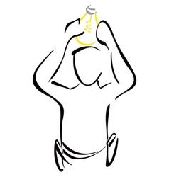 Electricity symbol vector image