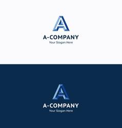 A Company logo vector image vector image