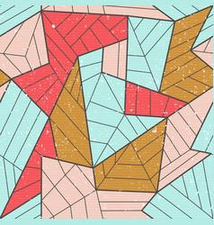 Cloth mosaic seamless pattern vector