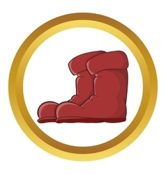 Boots icon vector