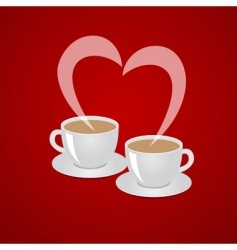 Coffee love vector