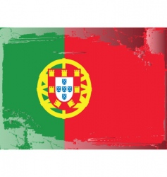 Portugal national flag vector