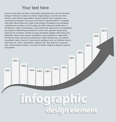 Abstract infographic design elements vector