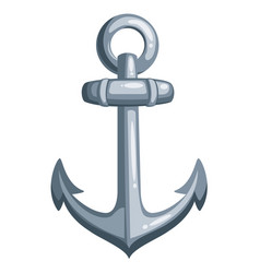 cartoon ship anchor vector image vector image