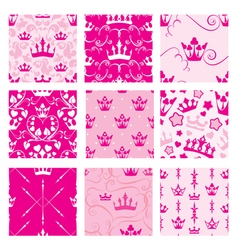 Crown seamless 380 vector
