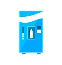 Milk vending machine design vector