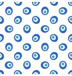 Turkish evil eye seamless pattern vector